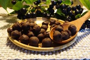 Aronia-in-Schokolade