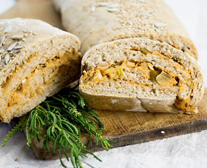 Olivenkraut Brot