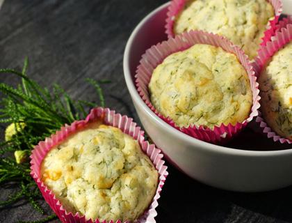 Olivenkraut Muffins