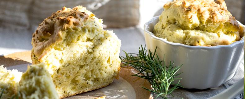 Muffins mit Pinienrosmarin