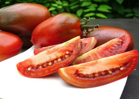 Tomate 'Black Icicle' (Saatgut)