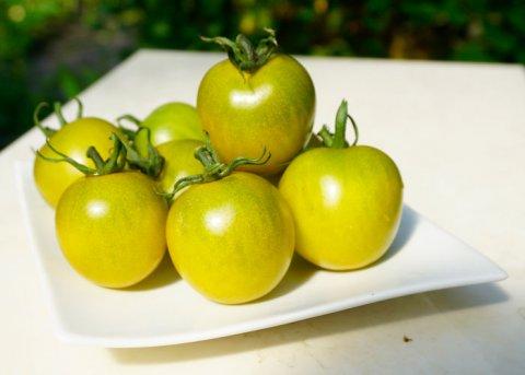 Kirschtomate 'Green en Grapes' (Saatgut)